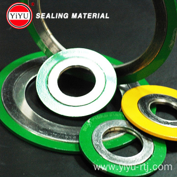 Flange Spiral Wound Gasket with IR and OR